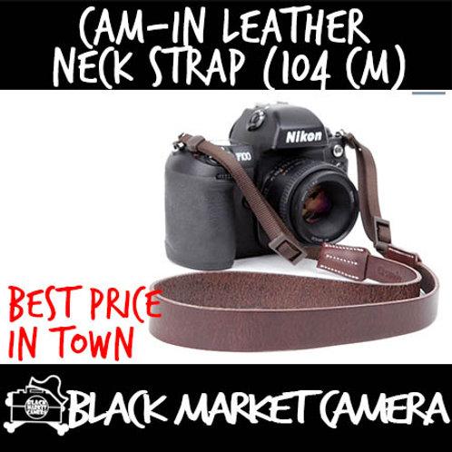 Cam-in Leather Neck Strap (104 cm)