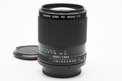 Canon New FD 100mm F2 (used)