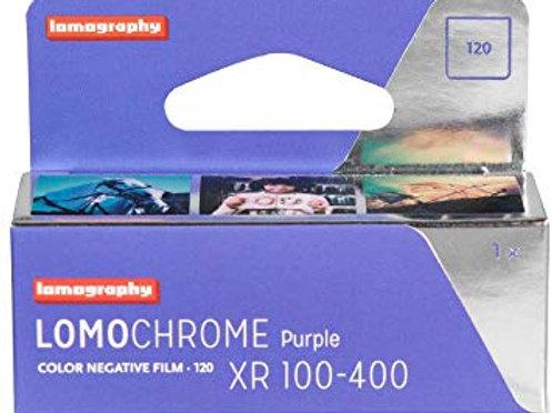 LomoChrome Purple XR 100-400 (120) (1 roll)