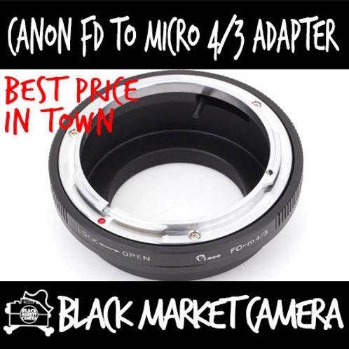 Canon FD Lens to Micro 4/3 Body Adapter