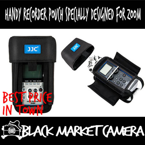 JJC Handy Recorder Pouch Specially Designed for ZOOM Recorders