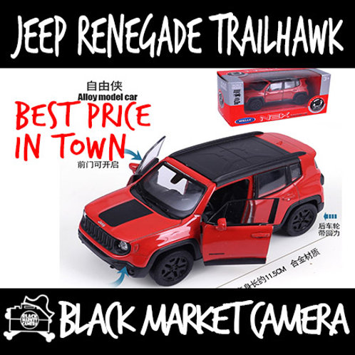Welly 1:36 Jeep Renegade Trailhawk Diecast Car Model
