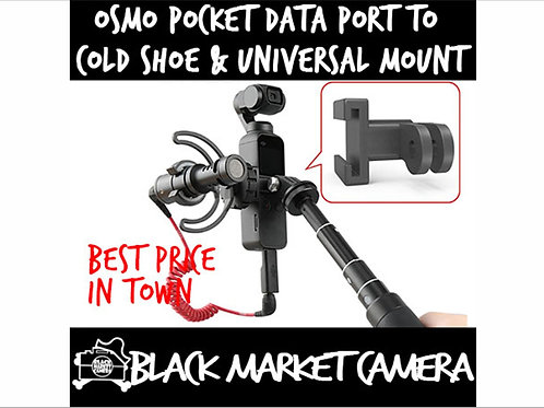 PGYTech DataPort To Coldshoe And Universal Mount for OSMO Pocket