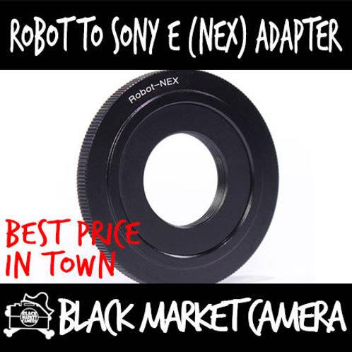 Robot Lens to Sony E (NEX) Body Adapter
