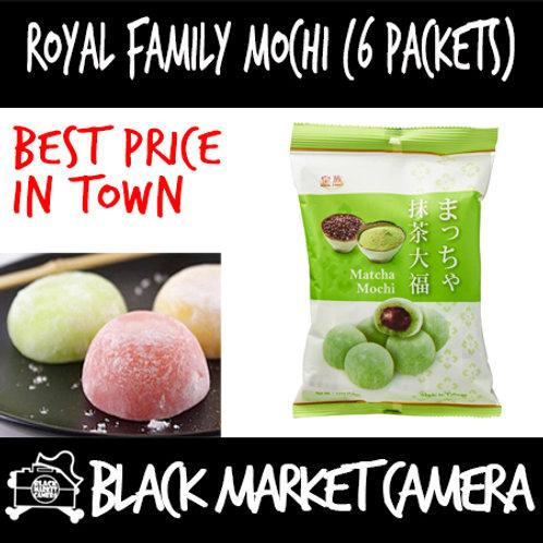 Royal Family Mochi (3 Packs)(Matcha / Red Bean / Strawberry / Milk )[SWE