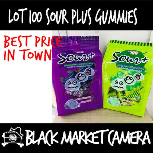 Lot100 Sour+ Gummy [SNACKS] [Candy][3 bags bulk order]