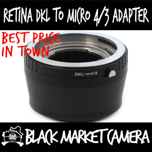 Retina DKL Lens to Micro 4/3 Body Adapter