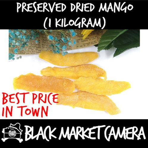 Preserved Dried Mango (Bulk Quantity, 1kg Bag)