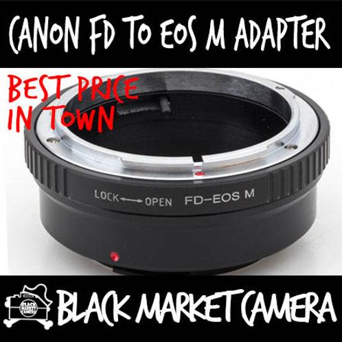 Canon FD Lens to Canon EOS M Camera