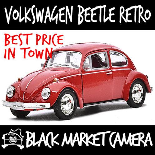 JackieKim 1:36 Volkswagen Beetle Retro Diecast Car Model