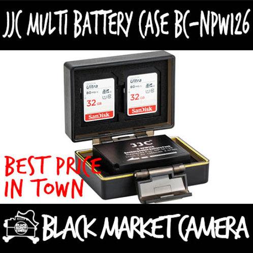 JJC BC-NPW126 Multi-Function Battery Case (2x SD)