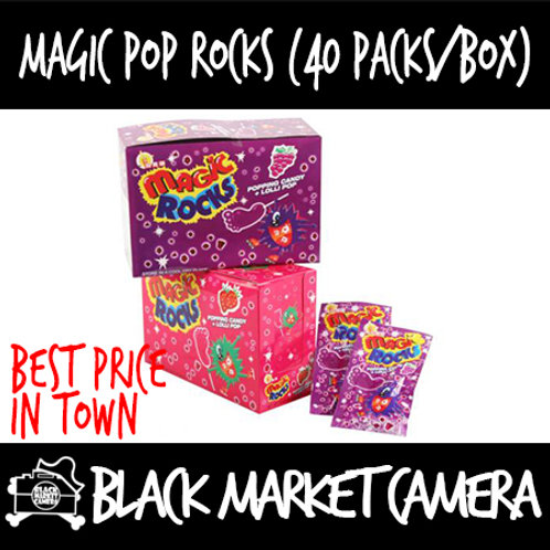 Magic Pop Rocks (Bulk Quantity, 40packs/box)