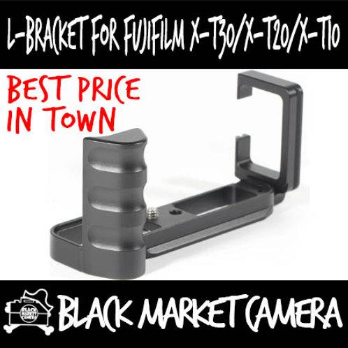 L-Bracket Quick Release Plate for Fujifilm X-T10/20/30