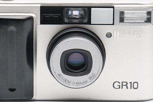 *SOLD* Ricoh GR-10 GR10 AF Film Compact Silver (used)