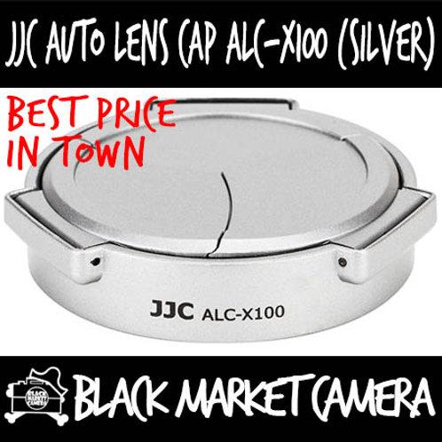 JJC ALC-X100 Auto Cap (Silver) For Fujifilm X70/X100/S/T/F/V