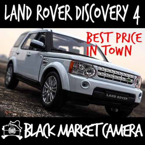 Welly 1:24 Land Rover Discovery 4 Car Model