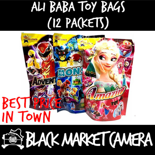 Ali Baba Surprise Toy Bags (Bulk Quantity, 12 Packets)