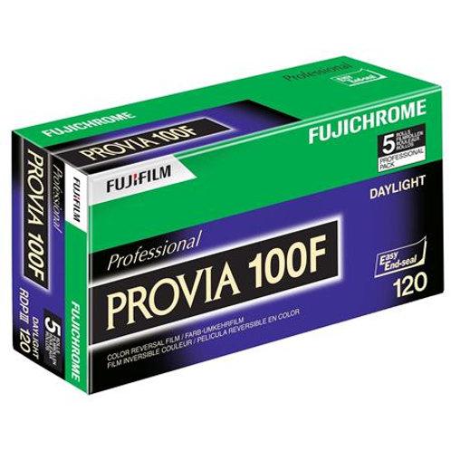 Fujifilm Provia 100F Color Slide (120) (1 roll)