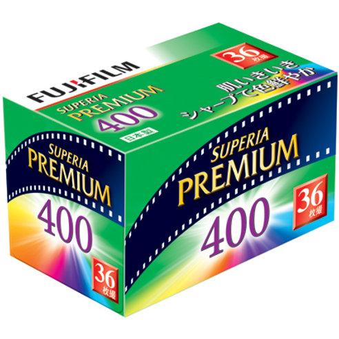 Fujifilm Superia Premium 400 36 Exp Colour Negative Film (135)