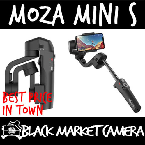 MOZA Mini S Pro (Extendable) 3-Axis Handheld Gimbal Stabilizer