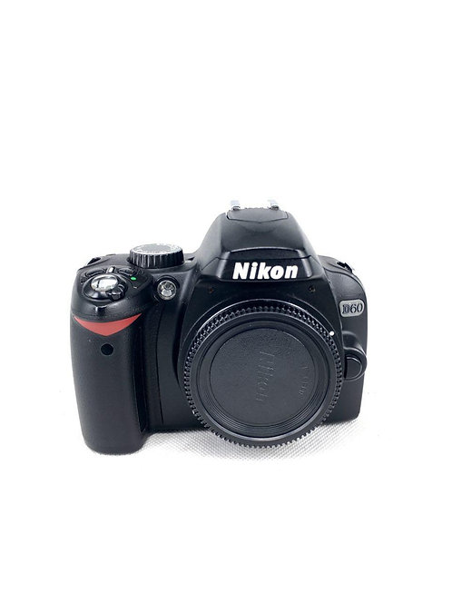 Nikon D60 (10MP) DSLR Body (used)
