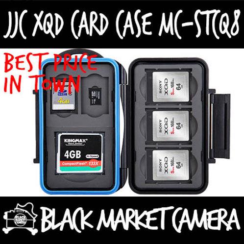 JJC MC-STCQ8 Memory Card Case (1CF 2SD 3XQD 2MSD)