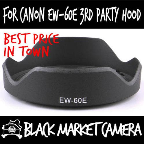 For Canon EW-60E 3rd Party Lens Hood