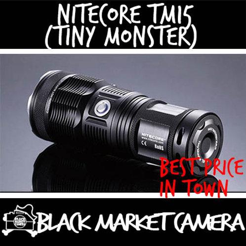 Nitecore TM15 Tiny Monster 2650 Lumens Rechargeable LED Flashlight