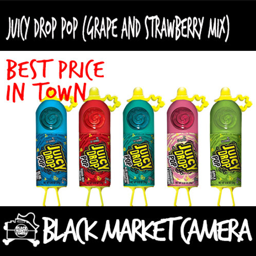 Juice Drop Candy (2 Boxes/ BULK QUANITITY)[Strawberry and Grape Mix ]