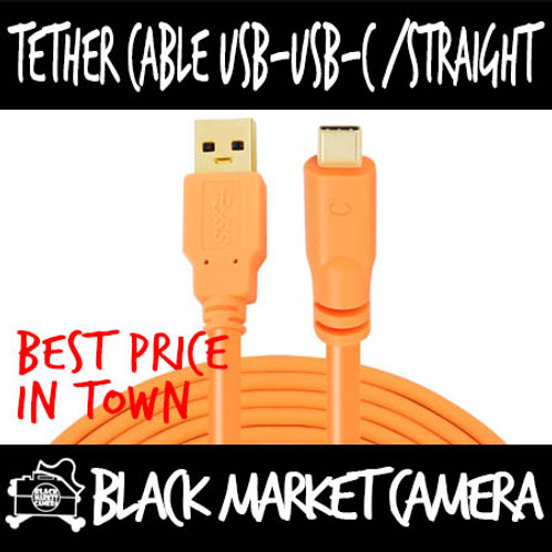 Yellowknife Tether Cable USB - USB-C Straight (1.5m/3m/5m/8m/10m)