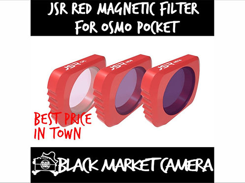 JSR UV/STAR/CPL/ND4/8/16/32/64 Lens Filter Accessories For DJI Osmo Pocket