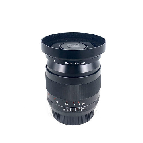 Carl Zeiss Distagon T* 28mm f2 ZE Canon Mt
