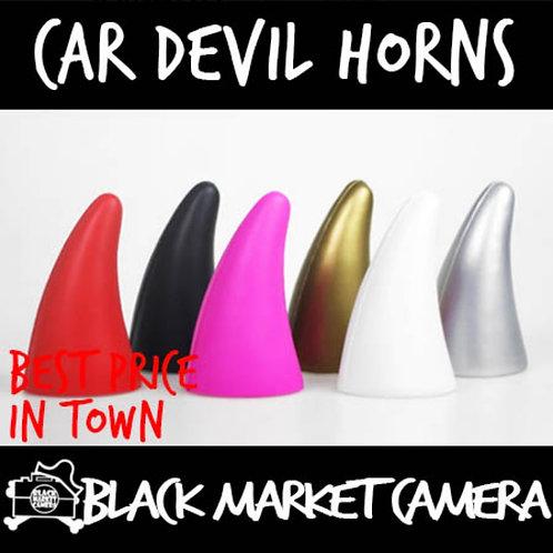 Car Devil Horns