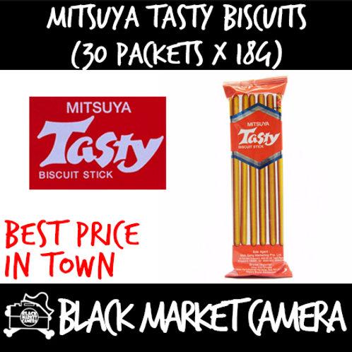 Mitsuya Tasty Biscuits (Bulk Quantity, 30 Packets x 18g)