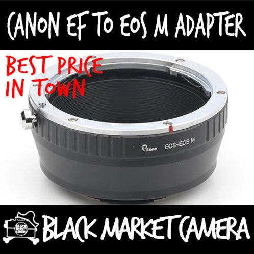 Canon EF Lens to Canon EOS M Camera
