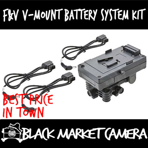 F&V V-Mount Battery System Kit