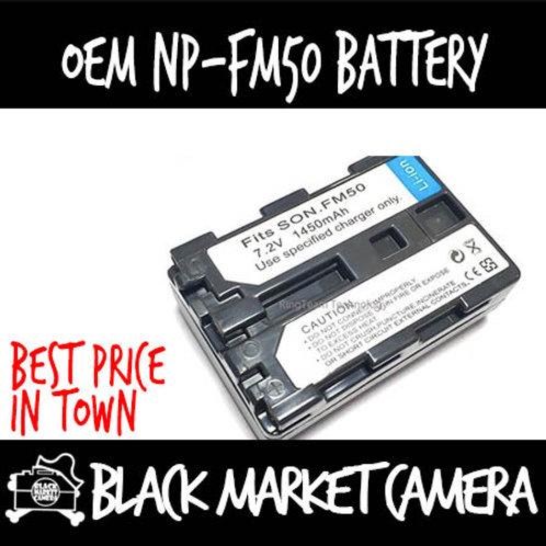 OEM NP-FM50 Battery