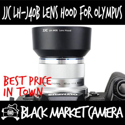 JJC LH-J40B Hood (Black) for Olympus M.Zuiko 45mm F1.8