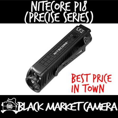 Nitecore P18 Precise Series Unibody Die-cast Futuristic Tactical Flashlight