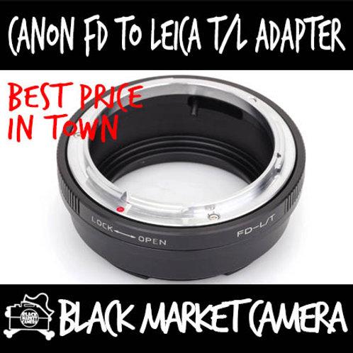 Canon FD Lens to L Mount Leica/Sigma/Panasonic Body