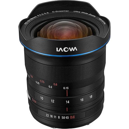 Venus Optics Laowa 10-18mm F4.5-5.6 FE Zoom Lens For Sony E