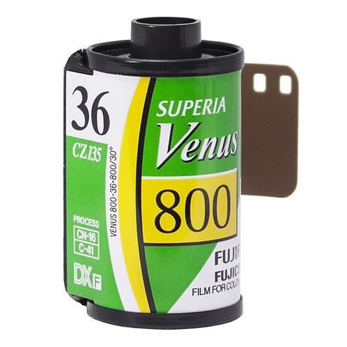 Fujifilm Superia Venus 800 36 Exp Colour Negative Film (135)