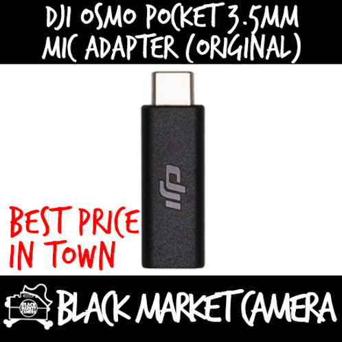 DJI Osmo Pocket 3.5mm Mic Adapter (Original)
