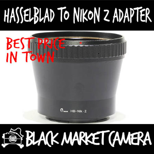 Hasselblad V Lens to Nikon Z Mount Camera