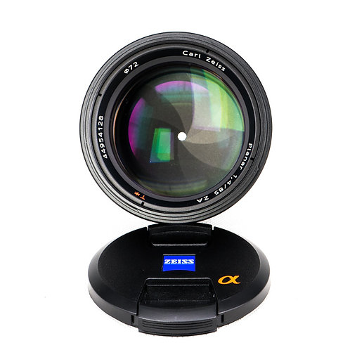 *SOLD* Carl Zeiss (Sony) 85mm F1.4 SAL85F14Z Sony Alpha Mount (S/N:****8350)