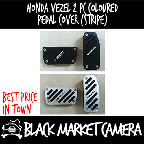 Honda Vezel 2 pc coloured pedal cover (stripe)