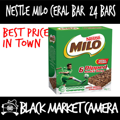 Nestle Milo Cereal Bar [24 bars/box] [BULK PURCHASE] [CHOCOLATE] [CEREAL]