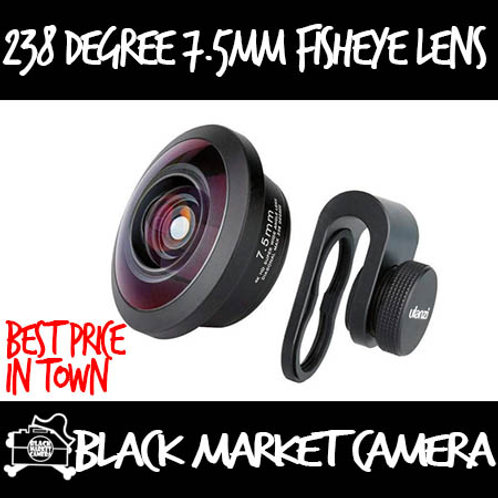 Ulanzi 238 Degree 7.5mm Fisheye Lens