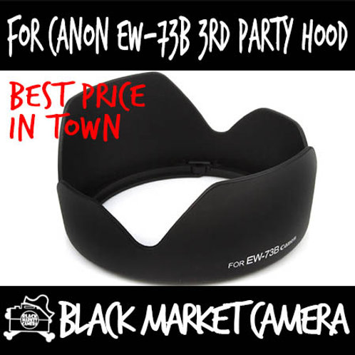 For Canon EW-73B 3rd Party Lens Hood