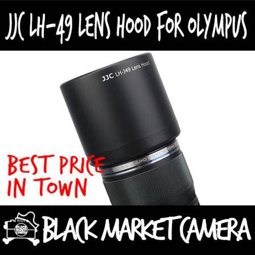 JJC LH-49 Hood for Olympus M.Zuiko 60mm F2.8 Macro